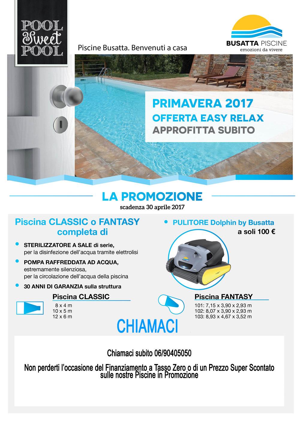 Offerta piscine interrate busatta civetta vendita piscine for Piscine in offerta
